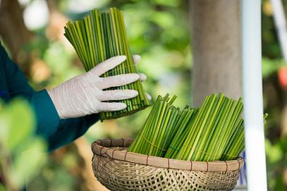 Making grass straws